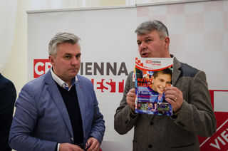 Željko Batarilo (links) im Gespräch mit PTV