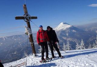 Einen der schönsten Ötscher-Blicke hat man vom Hochstadelberg.
