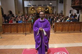 Jugendseelsorger Kidane Korabza von der Diözese Innsbruck