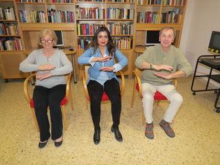 Gemeinsam besuchen Herta Moricz, Contreras Rodriguez und Alfred Czerny (v.l.) etwa Qigong-Kurse.