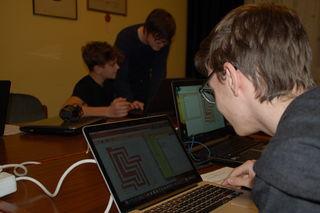 """Ein Kurs vermittelte erste Einblicke in die Programmiersprachen """"Hamster"""" und """"Java""""."""