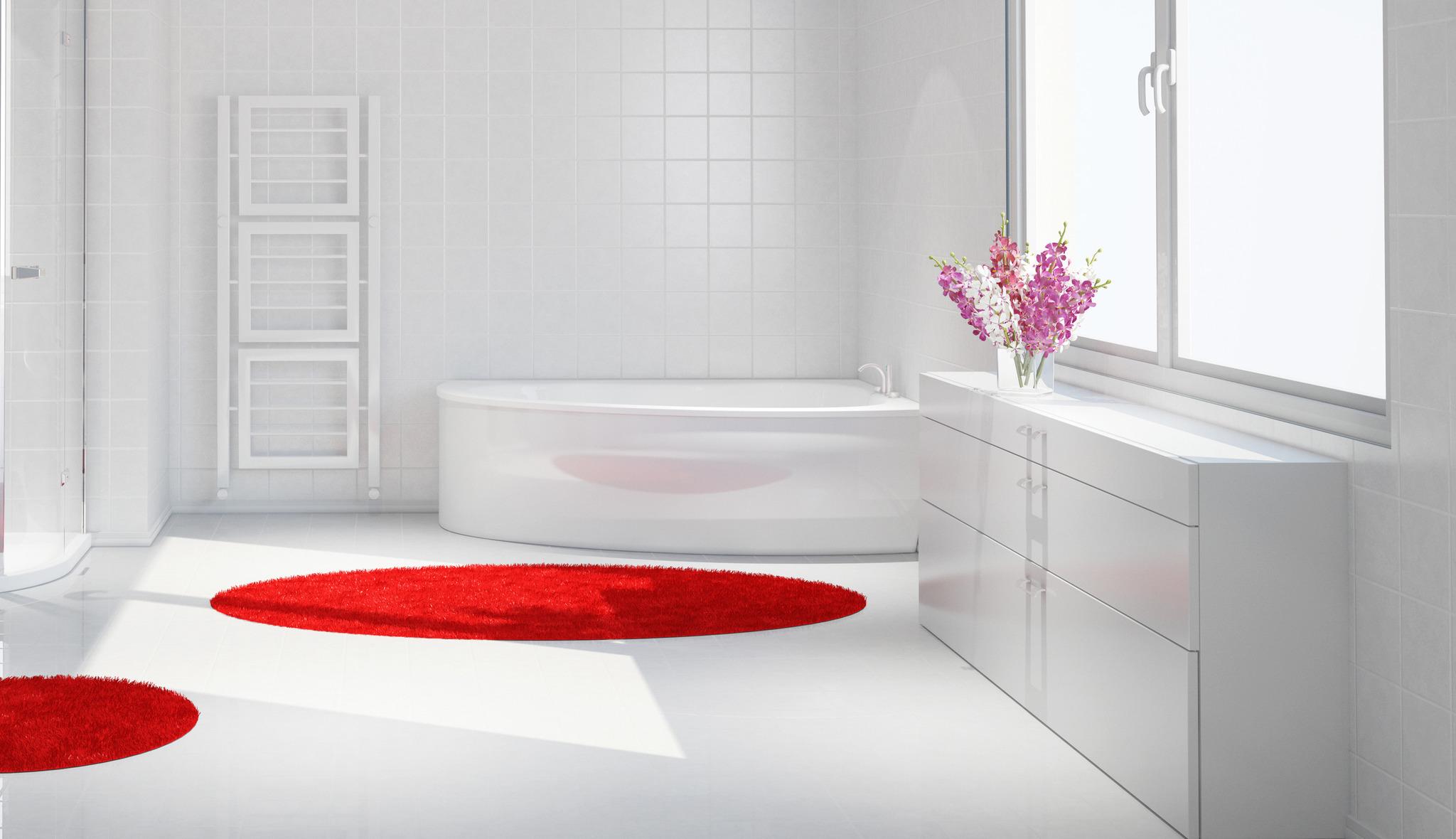 Clean - weiß - glücklich! Latexfarbe im Bad - Experten-Tipp von