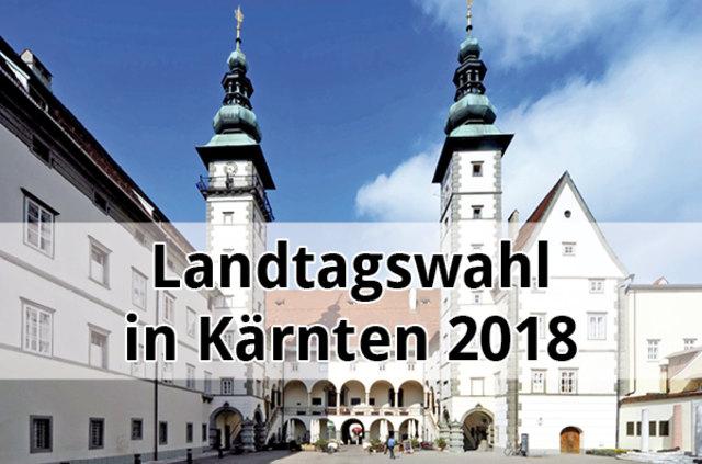 Hier findet ihr das Ergebnis der Kärntner Landtagswahl 2018 - für alle Bezirke und Gemeinden