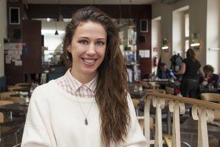 Die 24-jährige Claudia Wisleitner absolviert derzeit ein Medizinstudium und möchte Gynäkologin werden.