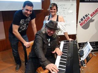 Lust auf Popchor machen jetzt auch in Leibnitz (v.l.) Wolfgang Vrecar, Mani Mauser und Jeannine Rossi.