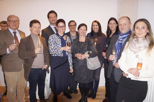 Simone Ullrich-Pansi konnte zu ihrer Rechtsanwaltskanzlei-Eröffnung zahlreiche Kollegen begrüßen.