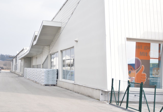Die IKEA-Abholstation beim Let's do it erspart die weite Fahrt nach Wien oder Graz.