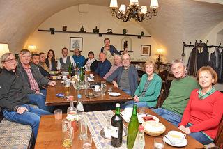 Ein großes Hallo war der Regionauten-Stammtisch der WOCHE Steiermark im Gasthof Eberhard in St. Michael.