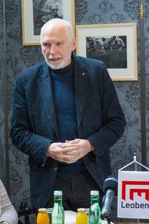 Gotthard Fellerer, Leobener Kulturpreisträger für das Jahr 2017.