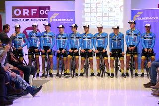 Das Team Felbermayr Simplon Wels war am 28. Februar in Umag am Start.