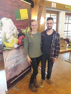 Kärntner Gemüsekiste: Katrin und Bernd Mitterer wollen mehr Mut und Regionalität an die heimischen Herde bringen
