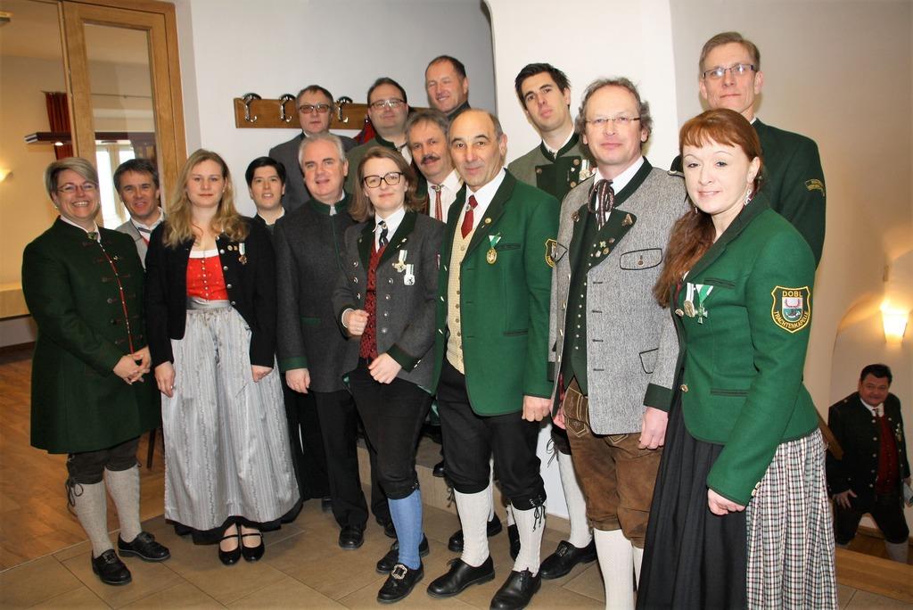 Neuwahl und Ehrungen im Blasmusikbezirk Graz-Süd