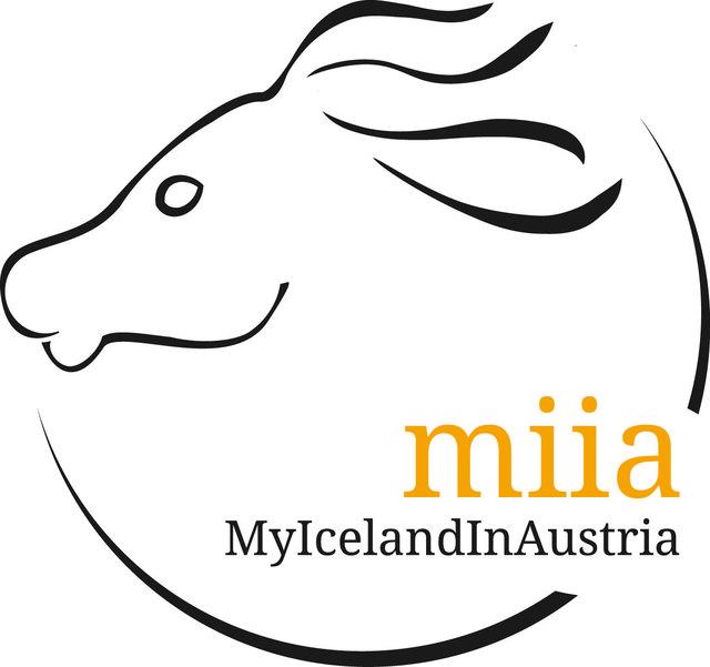 Logo des Namenspartners Miia - My Iceand in Austria - ein erfolgreicher Blog von Katharina Brandl über das Islandpferdegeschehen in Österreich