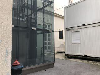 Suchbild: Wo is die Gedenktafel im Hof 2 des Hauptgebäudes der Technischen Uni Wien?
