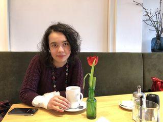 Zaklina Radosavljevic beim bz-Interview: Sie hat Vivaro mitbegründet und arbeitet als Beraterin bei der Caritas.