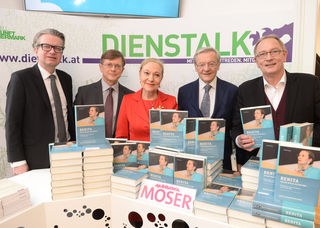 Buchpräsentation: Graz: Drexler, König, Ferrero-Waldner, Schüssel, Eisel-Eiselsberg (v. l.)