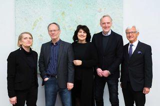 Kunst: Risse, Köstenbauer, Roth, Riegler, Möstl (v. l.)