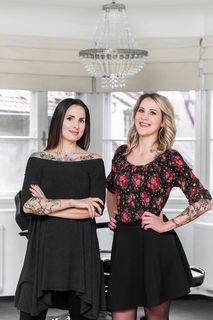 Schwesternpower in Graz: Carola (l.) und Sabrina Deutsch