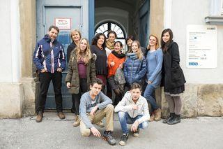 Das Team des Ibobb-Cafés der Stadt Graz lädt ein.
