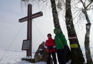 Gipfelkreuz auf dem Hamesberg
