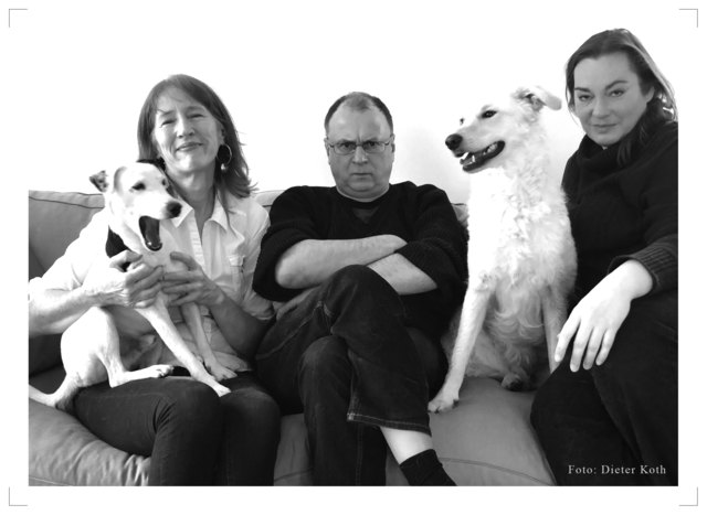 Juno, Regine Koth Afzelius, Peter Hodina, Amy, Selma Heaney (Copyright by Dieter Koth)