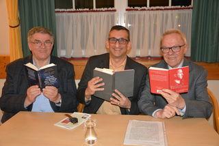 Pater Hermann Jedinger, Michael Jedlicka und Heinz Kuba