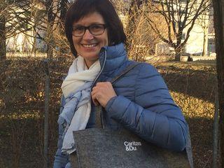 Für Haussammlerin Monika Geiger zählt jeder Euro.
