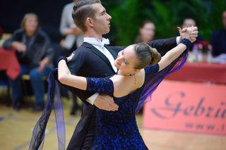 Tobias Wipplinger und Marlene Schwarz sind momentan sehr erfolgreich auf dem Tanzparkett unterwegs.