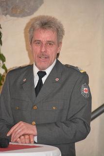 Abteilungskommandant Josef Fuchsberger