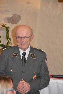 Erich Thell, früherer Kommandant und aktuell LEiter des Besuchsdienstes im  Lungau