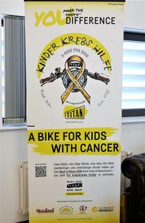 Kinder Krebs Hilfe, A BIKE FOR KIDS WITH CANCER, titan-motorcycles.com/titanprivilege