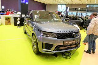 Range Rover in der Grazer Messe