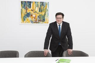 Dieter Wohlmuth ist mit seiner Anwaltskanzlei im Sailerhof am Leibnitzer Hauptplatz eingezogen.