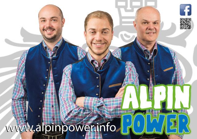 """Die Gruppe """"Alpin Power"""" ist beim nächsten Musikantentreffen zu Gast."""