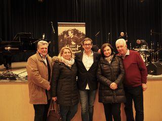 Walter & Silvia Berger, Viktor Gernot, Gabriela und Roman Zielinski