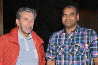 Johann Buchberger und Bilal Usman