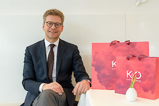 Freut sich über erfolgreiches Jahr: Vorstand Martin Wäg