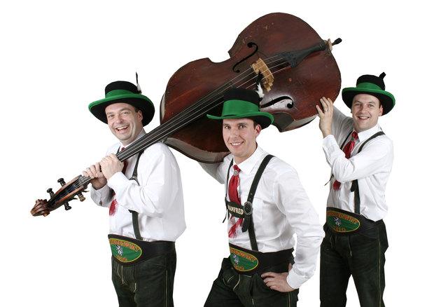 Das Schneiderwirt Trio lädt zum Frühschoppen und zu den Festtagen ein.