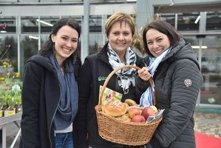 Cynthia Fritz, Heidi Ruprecht und Katrin Kanya bei den Herzenstagen vom TIP - Tourismusverband.