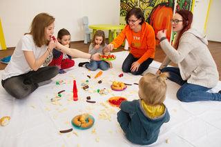In der Esslernambulanz soll schon im frühkindlichen Alter richtiges Essverhalten gelernt.