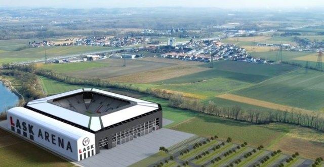 Screenshot aus dem Präsentationsvideo für das neue Stadion des LASK