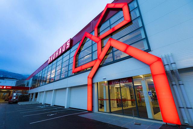 Bauhaus Völs, der neue Fachmarkt im Raum Innsbruck