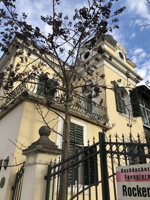 Erfolg für Bezirksrat: Diese Villa wird bestehen bleiben.