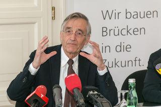 Rektor Tilmann Märk präsentierte eine positive Halbzeit-Bilanz.