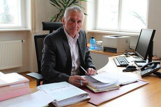 Der gebürtige Esternberger Walter Koller ist seit 2012 Vizepräsident des Landesgerichts Ried.