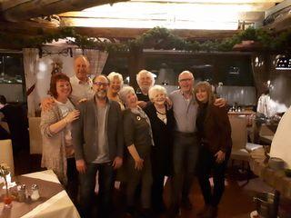 Fam. van der Laarse und Fam. van Doorn  mit ihren Vermietern und den TVB Gastgebern Andrea Schabuß und Martin Pröller
