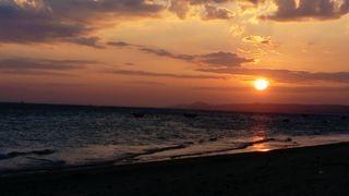 Immer wieder schön, Sonnenuntergänge....