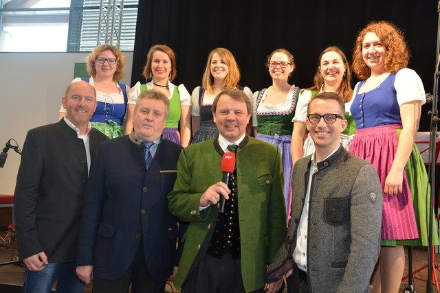 Aufg´spielt: Die Gemeinde Loipersdorf, der Tourismusverband und die Therme Loipersdorf luden zum traditionellen Radio Steiermark Frühschoppen.