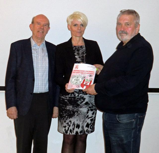 Dr. Karl Dorfmeister, StR Ulrike Schachner, Dr. Walter Labuda