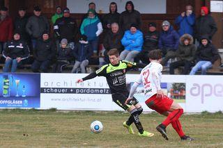 Union Perg (links Kevin Pretl) empfängt Wsc Hertha